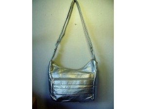 Pocketbook / Purse #30 Hobo Bag Silver