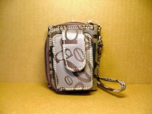 Wristlet Wallet Combination #04 Brown