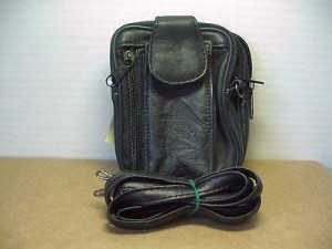 Belt Loop Purse Black #02