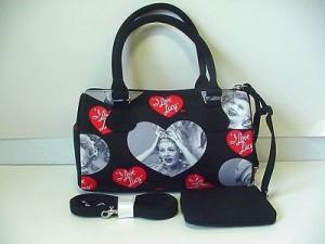 I Love Lucy Pocketbook / Purse #03 Barrel Design