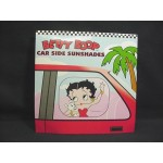 Betty Boop Sunshade For Side Rear Windows 1-pair (2-pieces) Waving Design