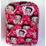 Betty Boop Back Pack Multi Faces Design