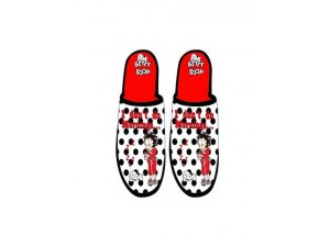 Betty Boop Slippers Polka Dot Design