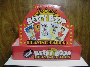 Betty Boop Playing Cards 1-deck (retired)