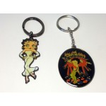 Betty Boop Key Chains Lot #05 White Gown & Mas Caliente Designs Two Pieces.