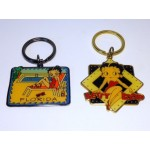Betty Boop Key Chains Lot #10 Florida & Sitting On Moon Designs. Two Pieces.