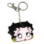 Betty Boop Key Chain - Zipper Pull Face Design