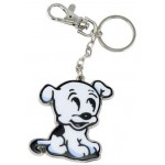 Betty Boop's Dog Pudgy Key Chain / Zipper Pull