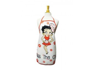 Betty Boop Apron Kiss The Cook Design