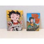 Betty Boop Magnets Lot #15 Biker Designs. Two Piece Set.