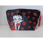 Betty Boop Make-up / Accessory Bag Kisses Design