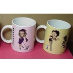 Betty Boop Mugs Two (2) Piece Set # 1