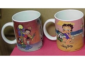 Betty Boop Mugs Two (2) Piece Set # 2