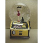 Betty Boop Musical Water Globe Slot Machine Design