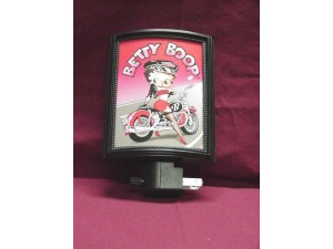 Betty Boop Night Light Biker Design 1 (retired Item)