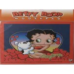 Betty Boop Mouse Pad Heart With Pudgy Design