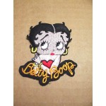 Betty Boop Patch Lot #04 Leaning On Her Name Design Large