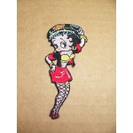 Betty Boop Patch Lot #02 Biker Babe Design Large