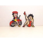 Betty Boop Patch Lot #05 Biker & Leg Up Designs