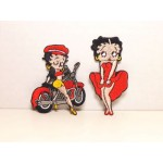 Betty Boop Patch Lot #06 Biker & Cool Breeze Designs
