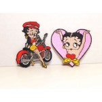 Betty Boop Patch Lot #07 Biker & Pink Heart Designs