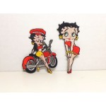 Betty Boop Patch Lot #09 Biker & Touching Knees Designs