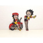 Betty Boop Patch Lot #10 Biker & Going My Way Designs