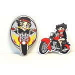Betty Boop Patch Lot #26 Biker  Designs Set 1
