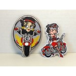 Betty Boop Patch Lot #27 Biker Designs Set 2