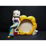 Betty Boop Picture Frame Peace Sign Design