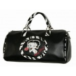 Betty Boop Overnight Bag Zebra Print Design