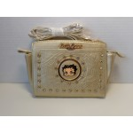 Betty Boop Pocketbook / Purse #95 Face Design Gold