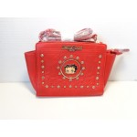 Betty Boop Pocketbook / Purse #96 Face Design Red