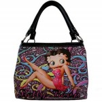 Betty Boop Pocketbook / Purse #103 Medium Tote Bag Multi Colors Design