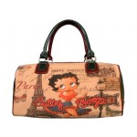 Betty Boop Pocketbook / Purse #104 Satchel Bag Betty In Paris Design