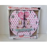 I Love Lucy Wall Clock Chocolate Factory Speed It Up Design
