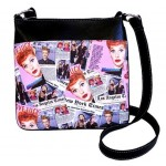 I Love Lucy Pocketbook / Purse #07 Messenger Bag Collage Design