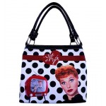 I Love Lucy Pocketbook / Purse #08 Polka Dot Design