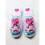 I Love Lucy Slippers Polka Dot Design