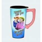 I Love Lucy Travel Mug Best Friends Design
