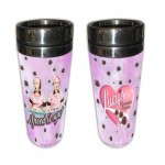 I Love Lucy Travel Tumbler Chocolate Factory Design