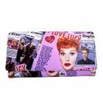 I Love Lucy Wallet #01 Collage Design