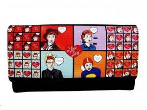 I Love Lucy Wallet #02 Multi Faces Design