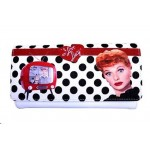I Love Lucy Wallet #03 Polka Dot Design.