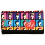 I Love Lucy Wallet #04 Multi Color Faces Design.