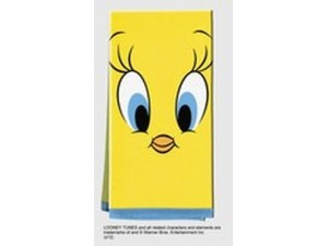 Tweety Bird Tea Towel Face Design