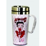 Betty Boop Travel Mug Cool Breeze Design (acrylic)
