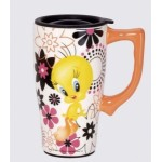 Tweety Bird Travel Mug 14 Ounce Ceramic