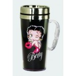 Betty Boop Travel Mug Kiss Design (acrylic)