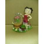 Betty Boop Mini Water Ball Flowers Design